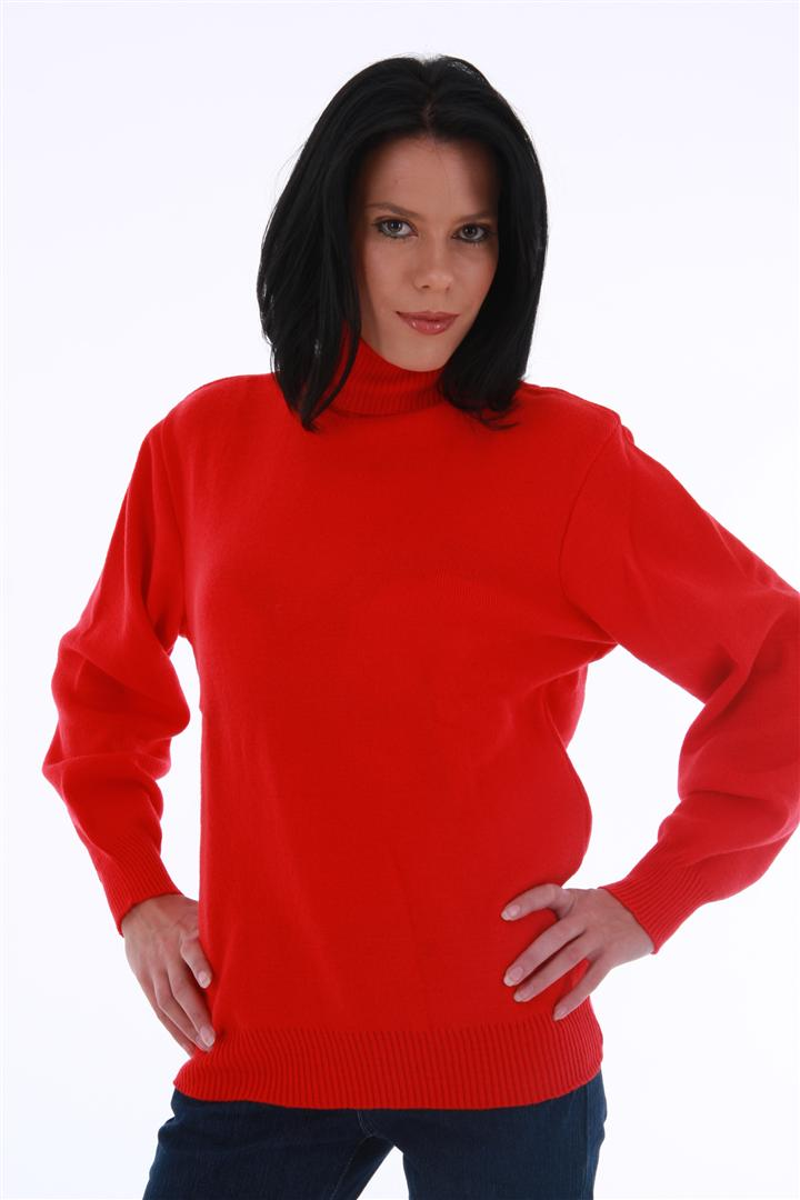 Polo Neck Long Sleeve