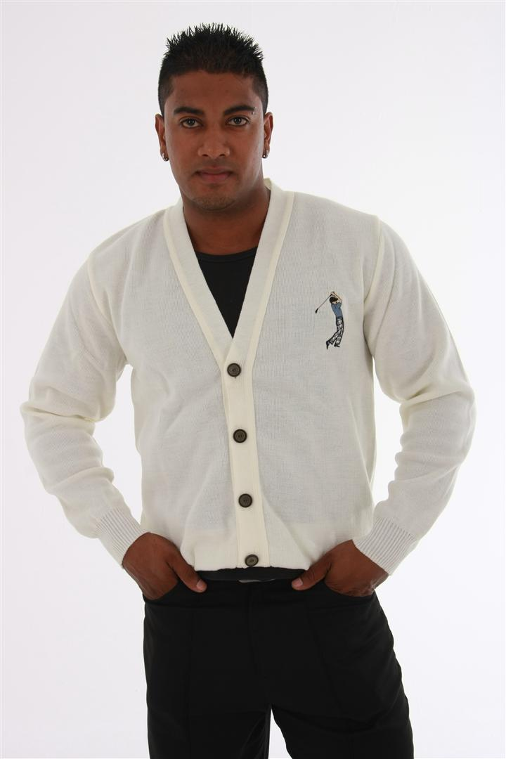 Mens Long Sleeve Cardigan